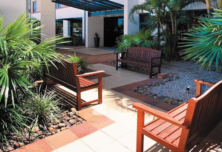 Travelodge Hotel Garden City Brisbane, Upper Mount Gravatt, Terrasse/Patio