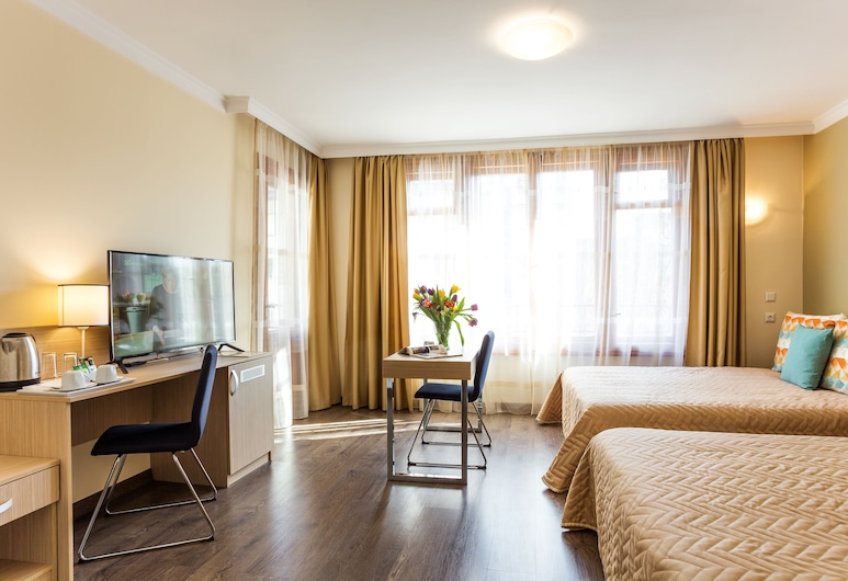 Hotel Geneva, Sofia, Deluxe Double or Twin Room, Guest Room
