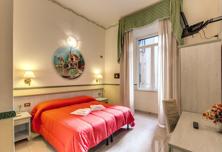 Hotel Cambridge, Rome, Standard Double or Twin Room, Guest Room