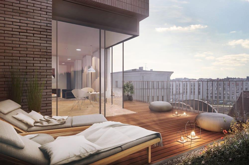 頂層客房 - 陽台