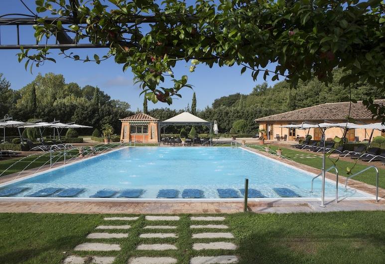 Hotel Il Piccolo Castello, Monteriggioni, Basen odkryty