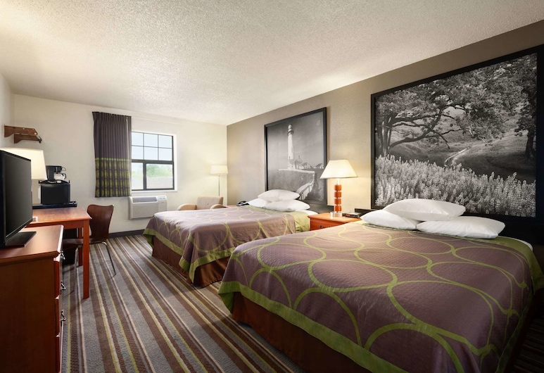 Super 8 by Wyndham Colorado Springs/Afa Area, Colorado Springs, Pokój standardowy, 2 łóżka queen, dla niepalących, Pokój