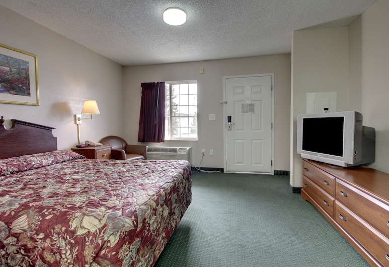 InTown Suites Extended Stay Charlotte NC – East Independence, Charlotte, Suite, 1 cama Queen size, Habitación