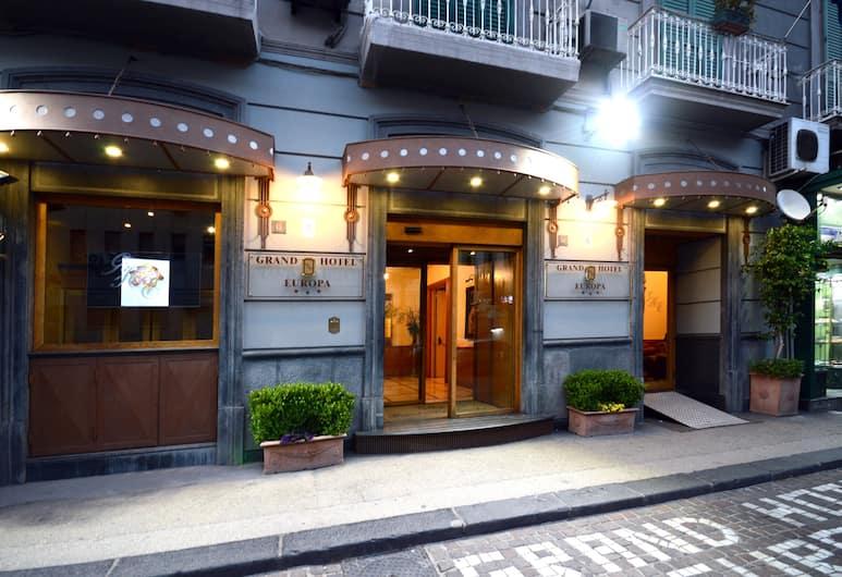Grand Hotel Europa, Naples, Pintu Masuk Hotel