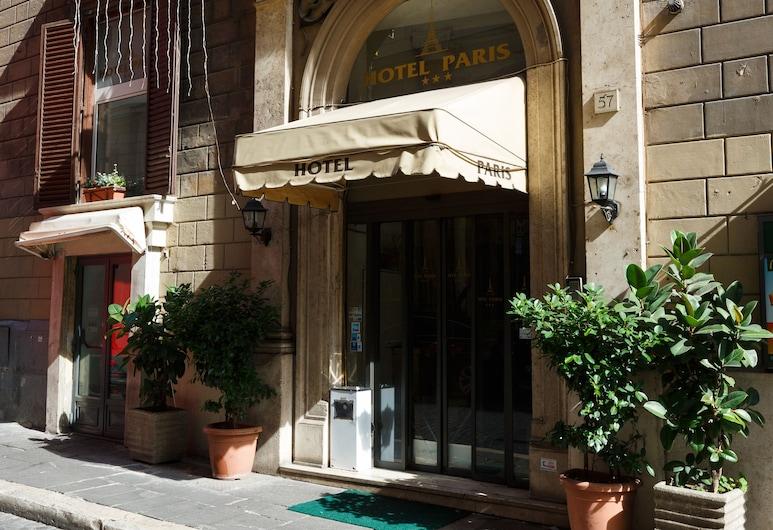 Hotel Paris, Rome, Hotel Front