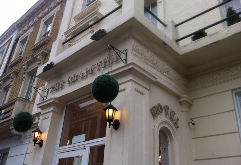 The Grapevine Hotel, London, Hotel Front