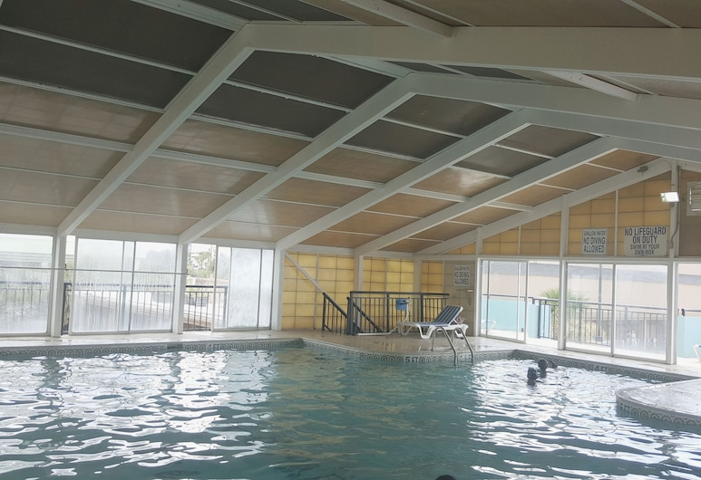 Ocean Plaza Motel, Myrtle Beach, Piscine couverte