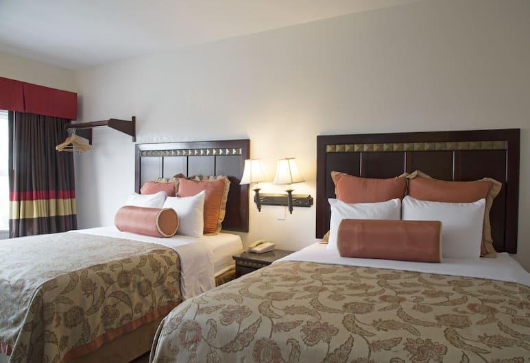 Harborview Inn & Suites San Diego Harbor, סן דייגו, חדר סטנדרט, 2 מיטות קווין, חדר אורחים