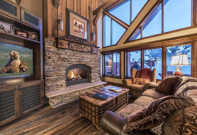 The Lodge at the Mountain Village by ASRL, Park City, Living Area