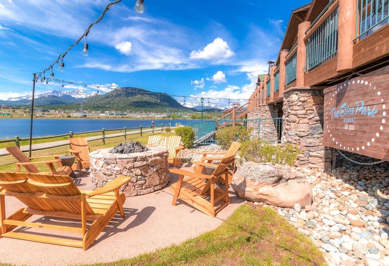 The Estes Park Resort, Estes Park, Terraza o patio