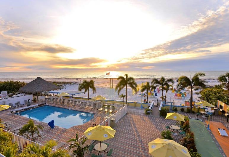 Plaza Beach Hotel Beachfront Resort, St. Pete Beach