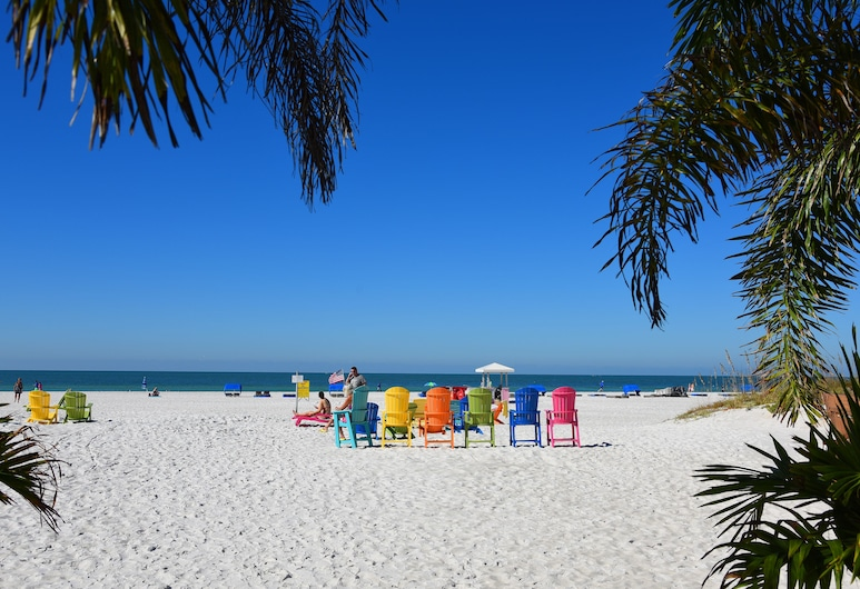 Plaza Beach Hotel Beachfront Resort, St. Pete Beach, Spiaggia