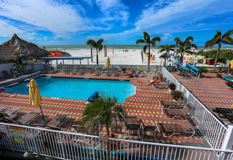 Plaza Beach Hotel Beachfront Resort, St. Pete Beach, Vanjski bazen