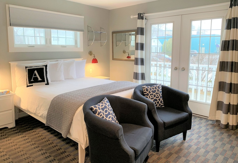 Acadia Hotel-Downtown, Bar Harbor, Room, 1 Queen Bed, Guest Room