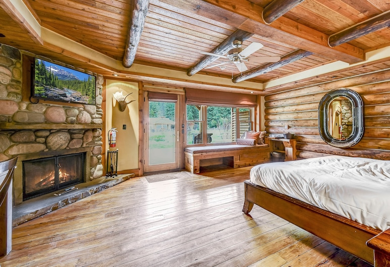 Rainbow Ranch Lodge, Gallatin Gateway, Pokój Deluxe, Łóżko king, Pokój