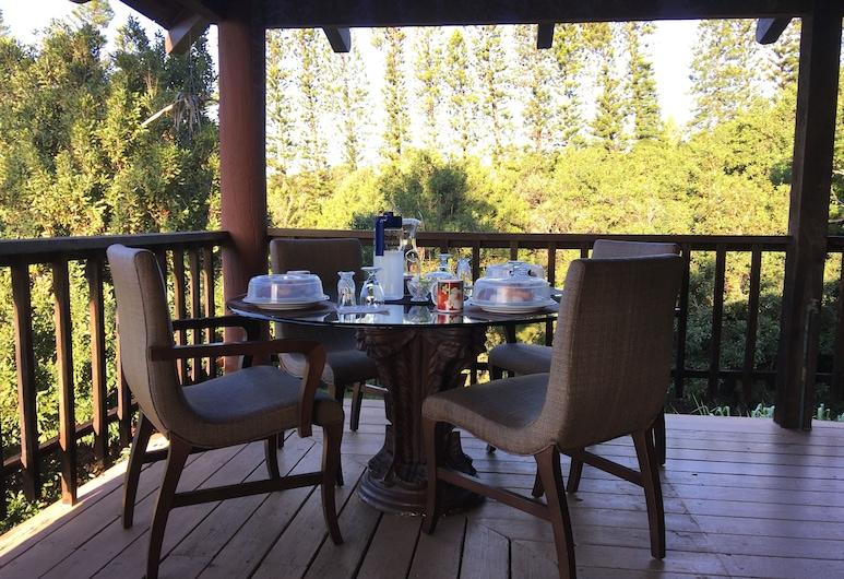 Big Island Bed & Breakfast, Naalehu, Área para desayunar