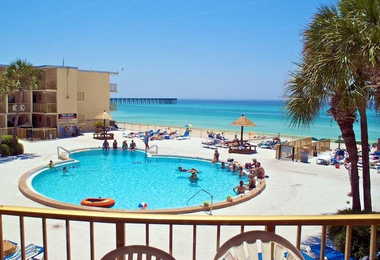 Chateau By The Sea, Panama City Beach, Camera Standard, 1 camera da letto, vista spiaggia, Vista dalla camera