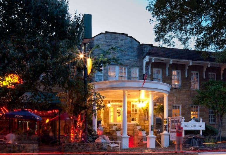 The Highland Inn, Atlanta, Exterior