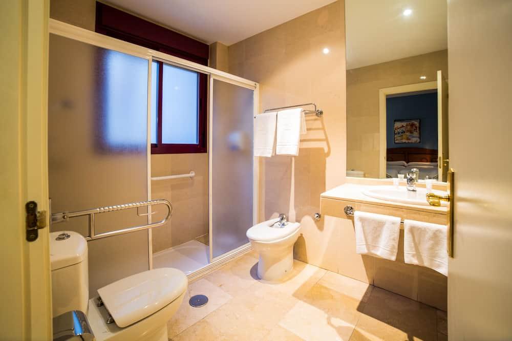 ห้องดับเบิล (+ Extra Bed) - ห้องน้ำ