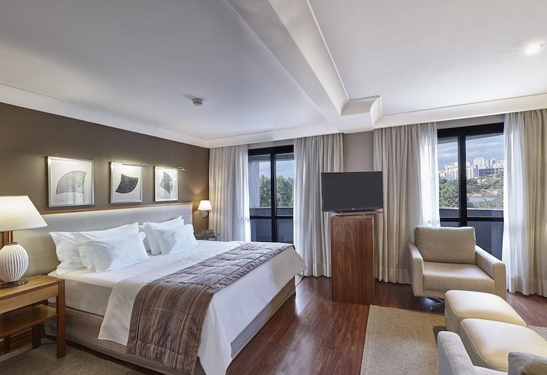 George V Alto De Pinheiros, São Paulo, Luxury-Suite, 1King-Bett, Zimmer
