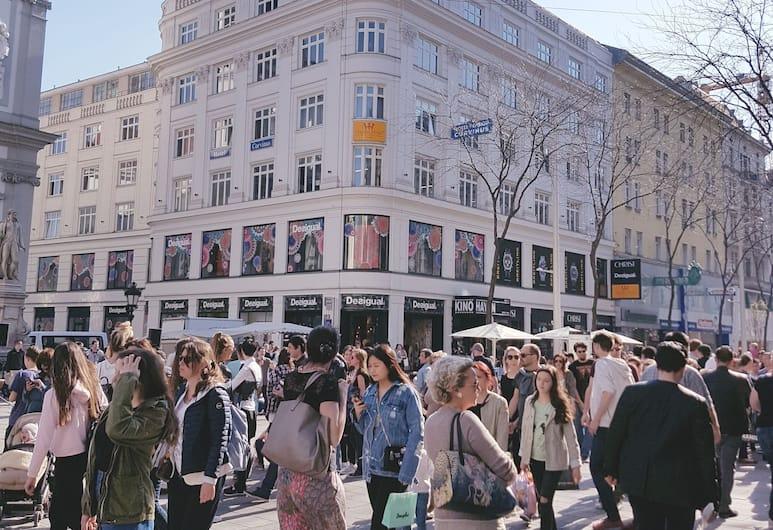 Hotel Haydn, Wien, Hotellets front