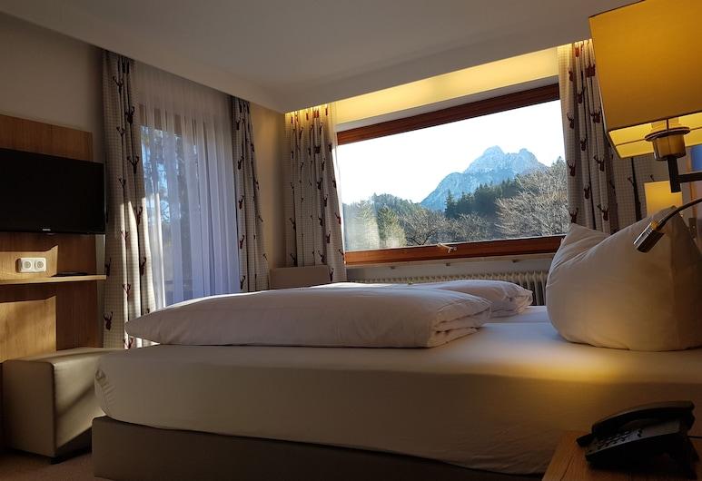 Ruchti's Hotel und Restaurant, Füssen, Habitación triple, balcón, Habitación