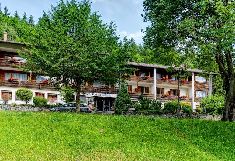 Ruchti's Hotel und Restaurant, Füssen, Hotellets facade