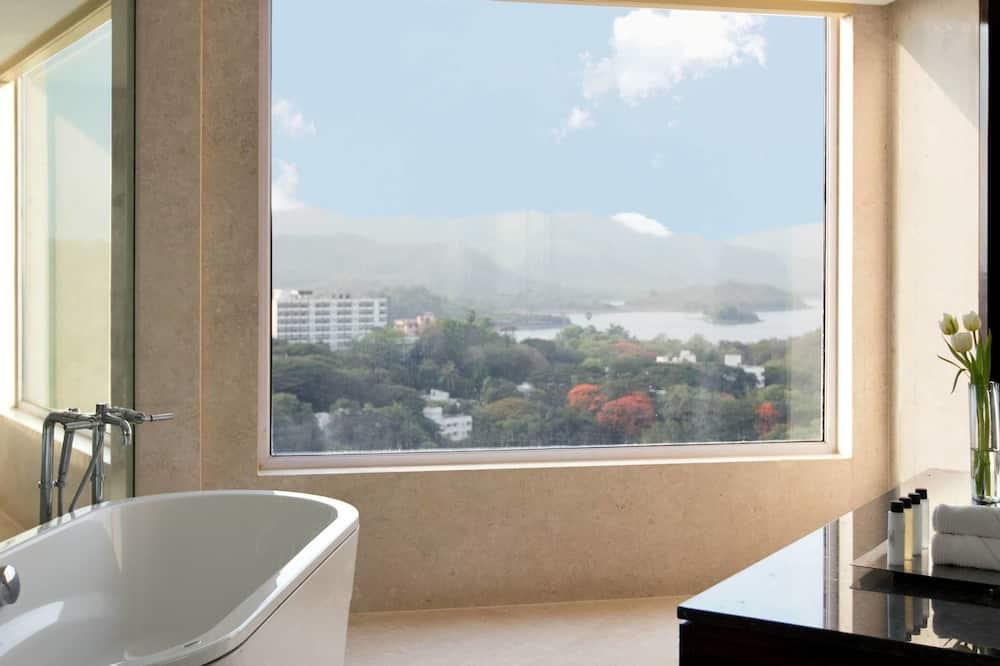 Suite Premier, 1 cama King size, para no fumadores, vista al lago - Baño