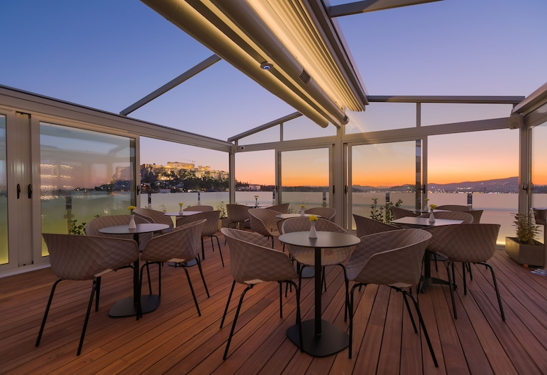 Athens Cypria Hotel, Athens, Terrace/Patio