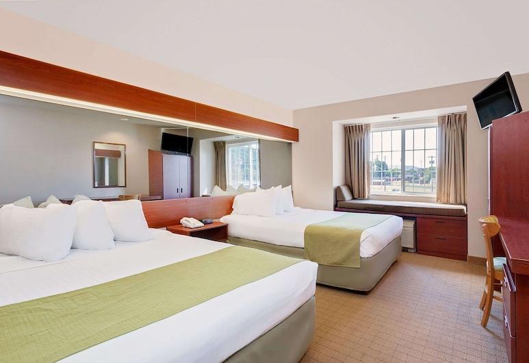 Microtel Inn & Suites by Wyndham Wellsville, ולסוויל, חדר, 2 מיטות קווין, ללא עישון, חדר אורחים