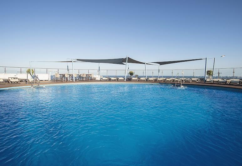 Hotel El Puerto by Pierre & Vacances, Fuengirola, Takterrasspool