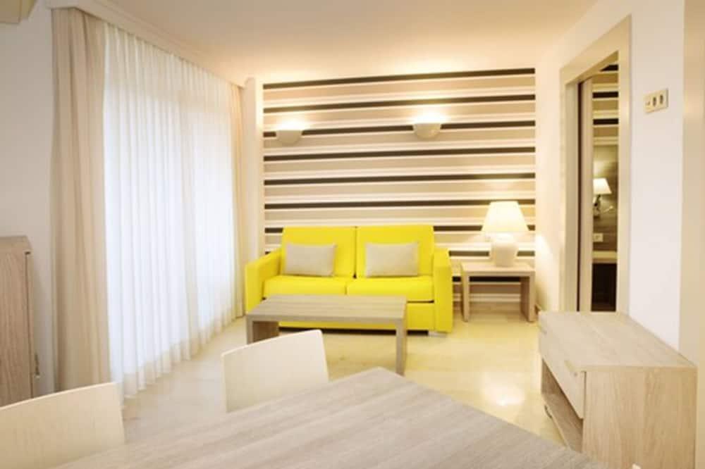 Suite, terraza (2 Adults + 1 Child) - ห้องนั่งเล่น
