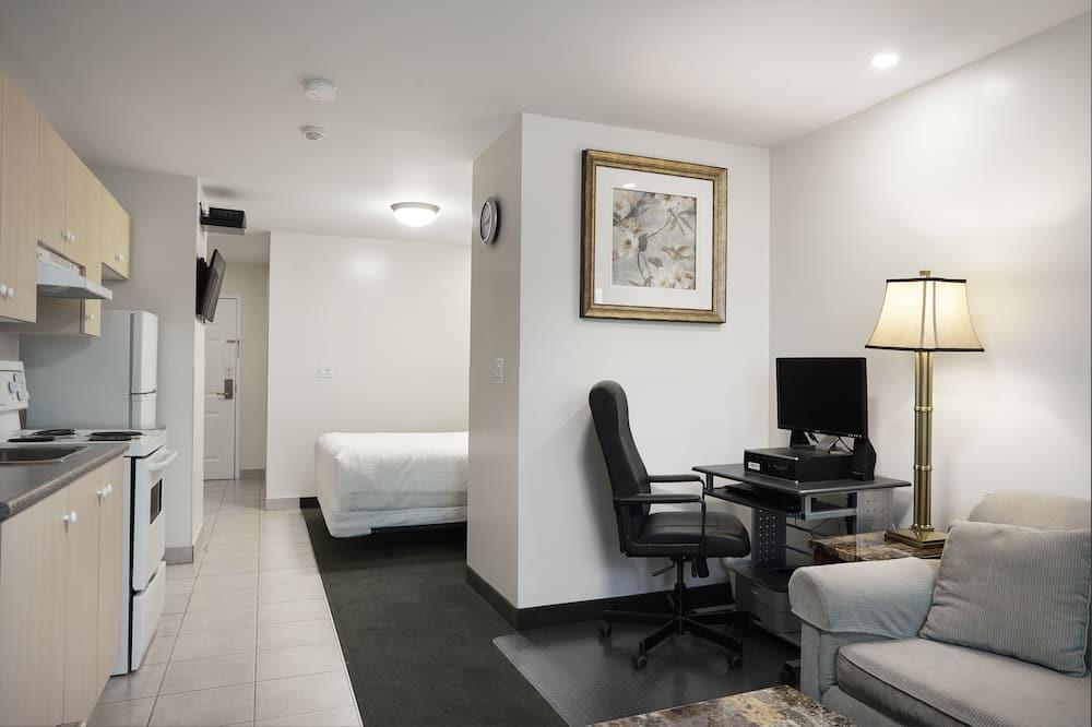 Suite estudio, 1 cama Queen size (Mini) - Sala de estar