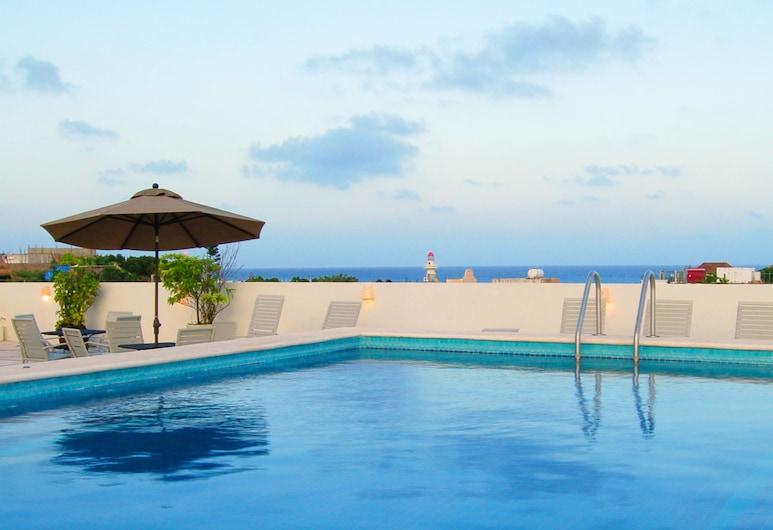 Los Itzaes Hotel, Playa del Carmen, Kolam Renang Luar Ruangan