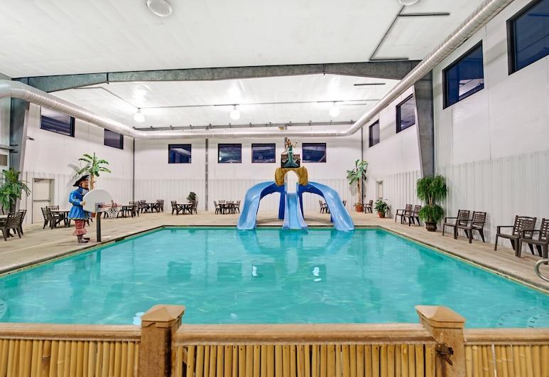 哥倫布德溫德姆華美達酒店及會議中心, 哥倫布, 室內泳池
