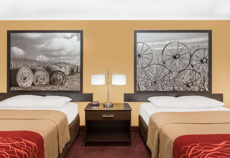 Super 8 by Wyndham Ames, Ames, Pokój dwuosobowy, 2 łóżka podwójne, dla palących, Pokój
