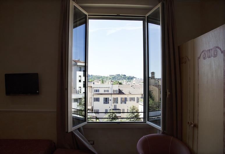 Hotel Aurora, Florence, Klassieke driepersoonskamer, Uitzicht vanaf kamer