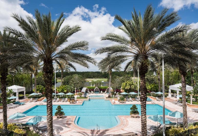 JW Marriott Orlando Grande Lakes, Orlando, Basen odkryty