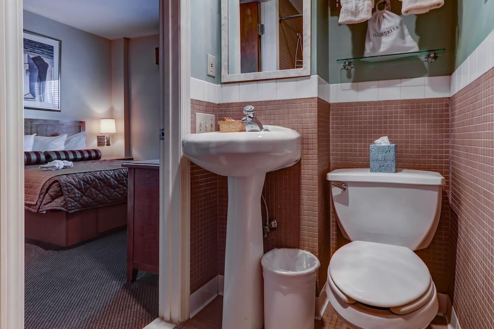 Standaard kamer, 1 eenpersoonsbed, Uitzicht op de stad - Badkamer