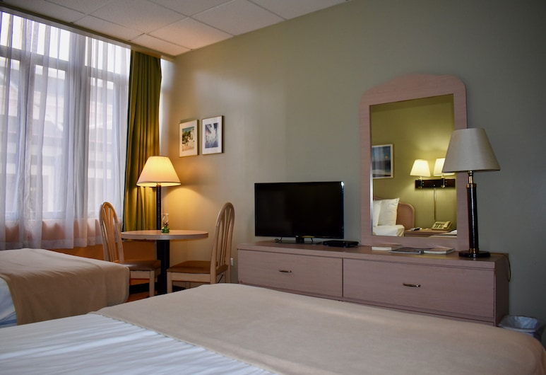 Hotel Milano, San Chuanas, Pagerinto tipo kambarys, 2 standartinės dvigulės lovos, Svečių kambarys