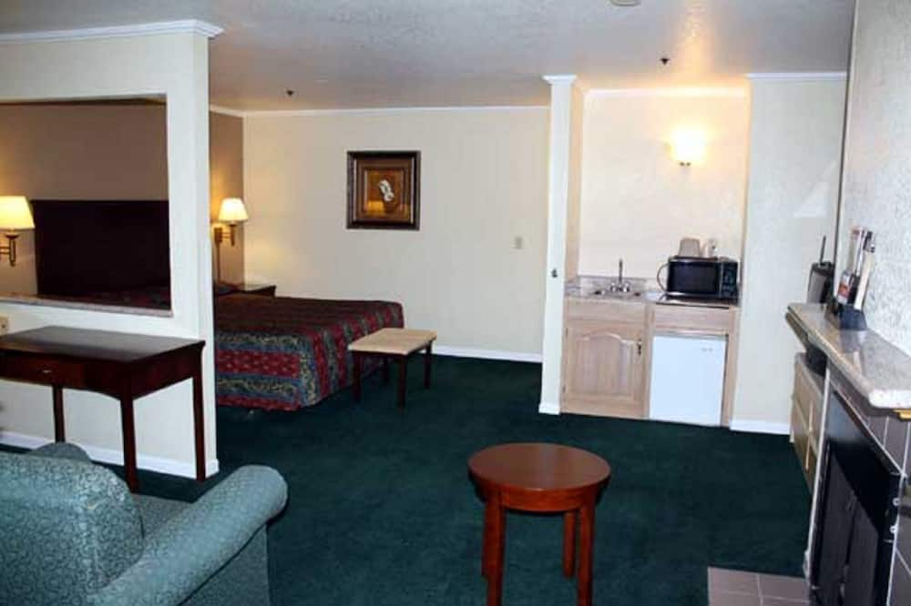套房, 1 張加大雙人床 - 客廳