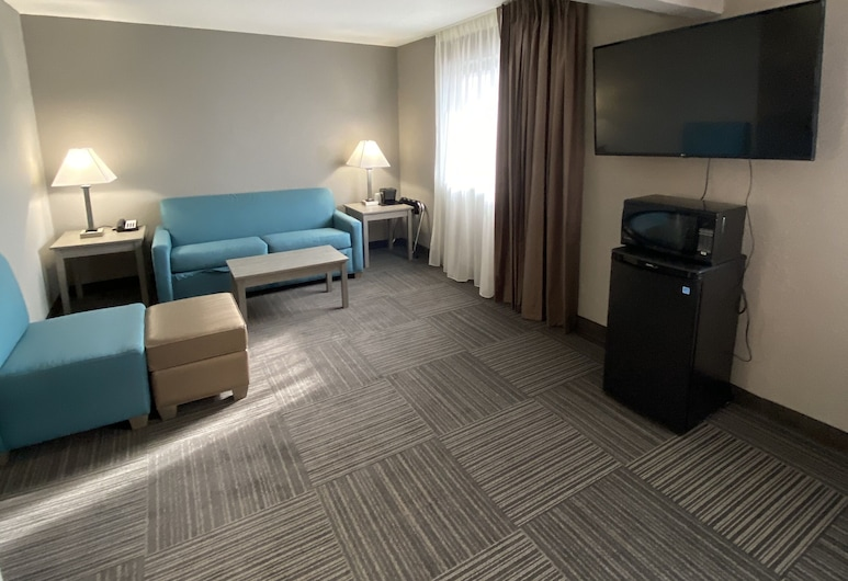 Quality Inn & Suites, Hammond, Kamar Single, 2 Tempat Tidur Double, non-smoking, Area Keluarga