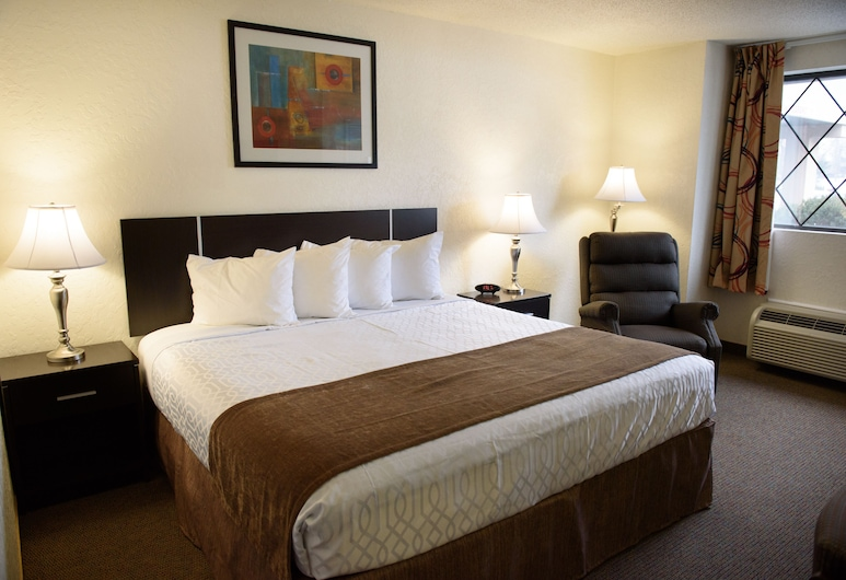 Americas Best Value Inn New Paltz, New Paltz, Room, 1 King Bed, Accessible, Non Smoking, Guest Room