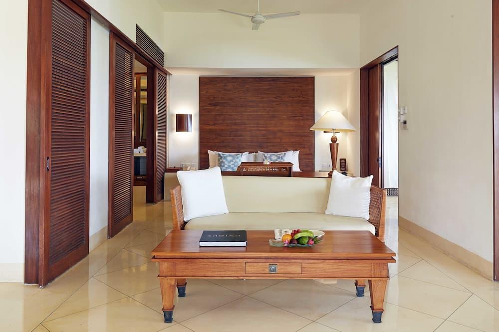 Numeris, 1 labai didelė dvigulė lova (Seaside) - Svetainė