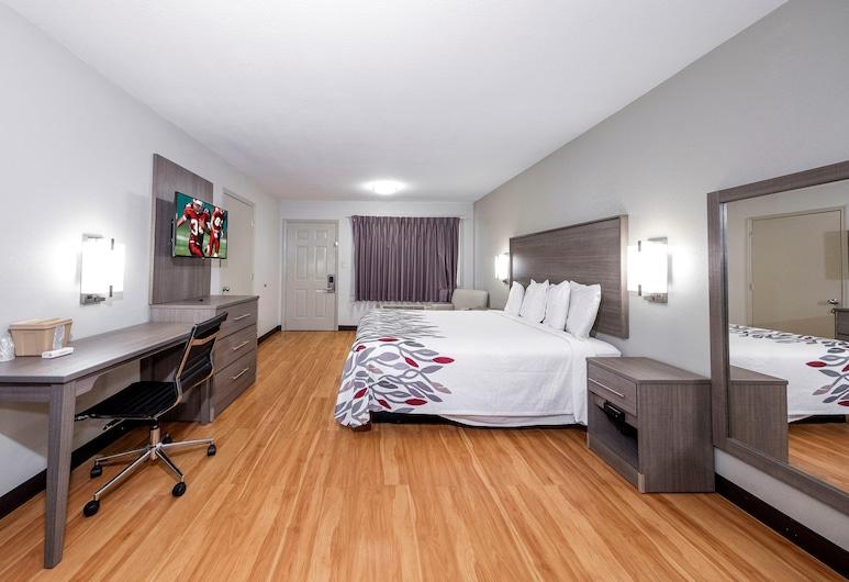 Red Roof Inn Bay Minette, Bay Minette, Deluxe soba, 1 king size krevet, pristup za osobe s invalidnošću (Smoke Free), Soba za goste