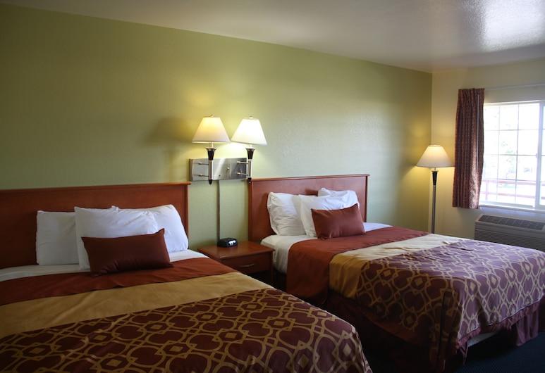 Americas Best Value Inn Santa Rosa, CA, Santa Rosa, Zimmer, 2Queen-Betten, Nichtraucher, Zimmer