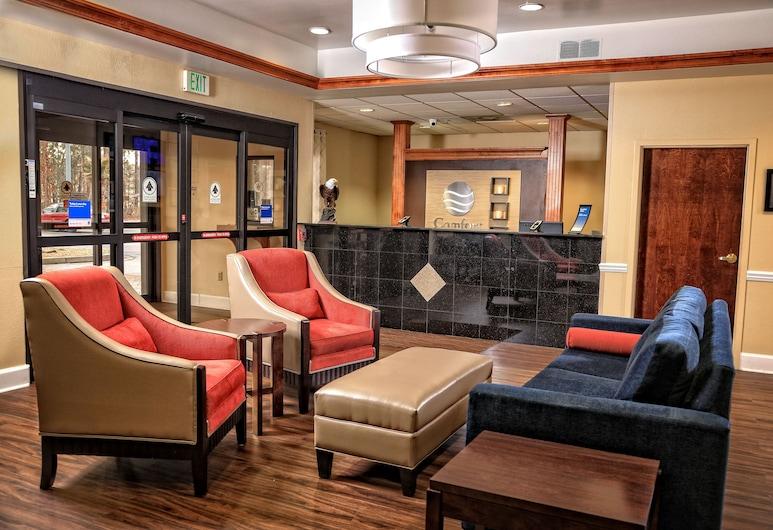 Comfort Inn & Suites Statesboro - University Area, סטייטסבורו, אזור ישיבה בלובי