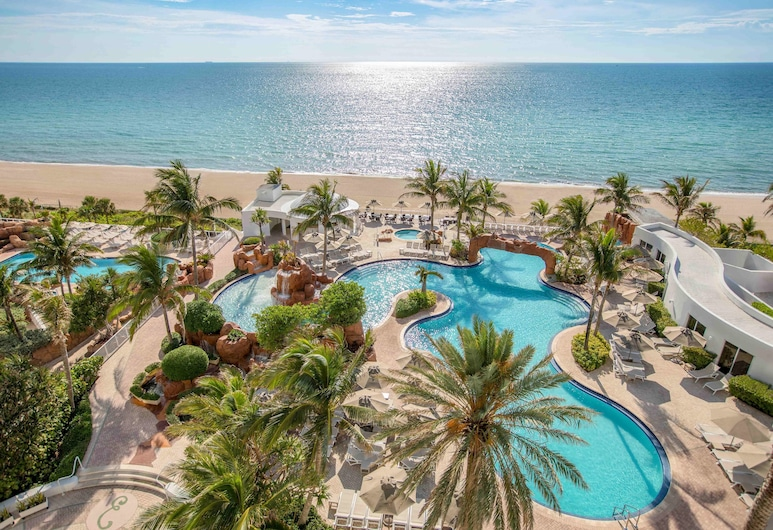 Trump International Beach Resort, Sunny Isles Beach, Plage