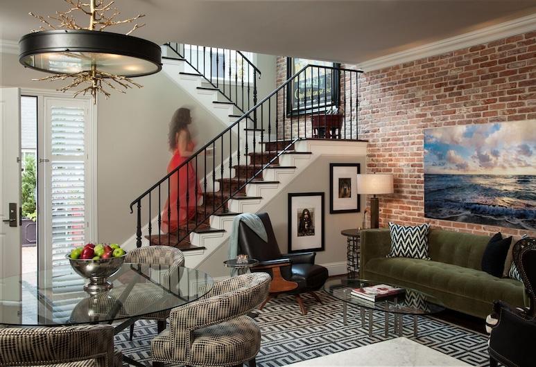 Hotel ZaZa Dallas, Dallas, Bungalow, 1 très grand lit, Chambre