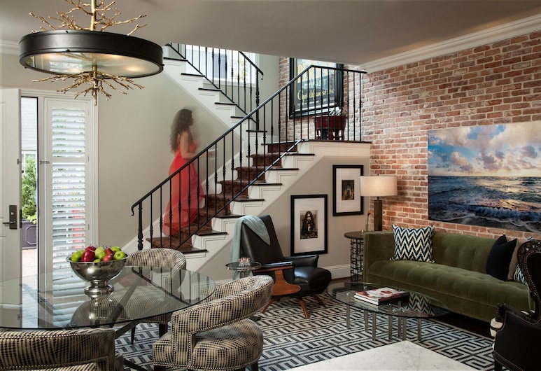 Hotel ZaZa Dallas, Dallas, Bungalow, 1King-Bett, Zimmer